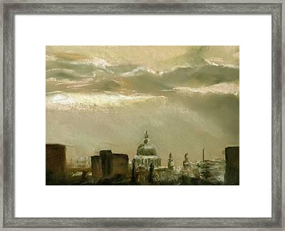 London City Dawn 2 Framed Print by Paul Mitchell