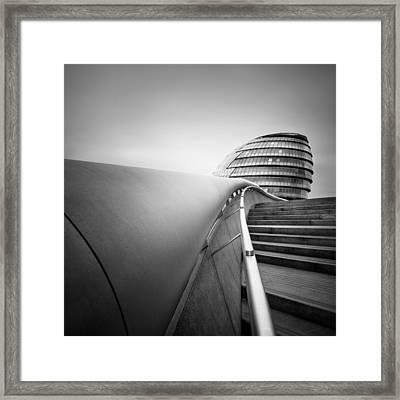 London City Hall Framed Print by Nina Papiorek