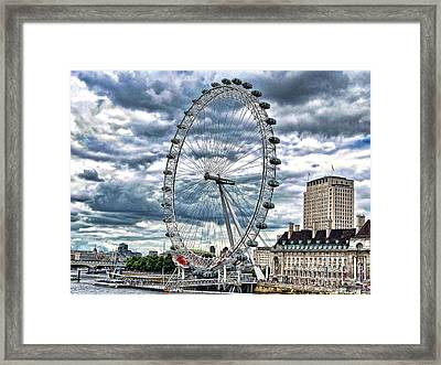 London Eye Framed Print by Graham Taylor