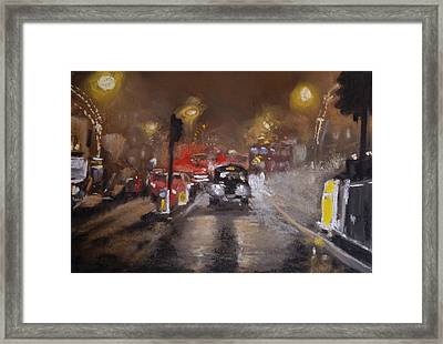 London Fog 1 Framed Print by Paul Mitchell