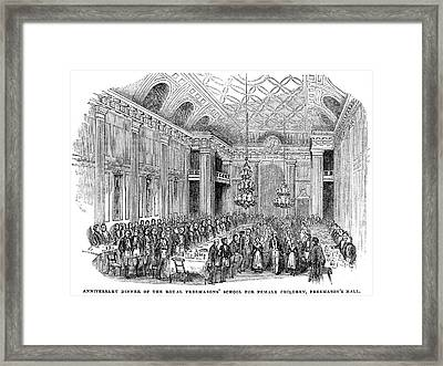 London: Freemasons Hall Framed Print by Granger