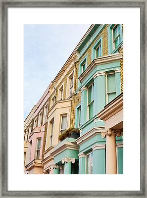 London Houses Framed Print by Tom Gowanlock