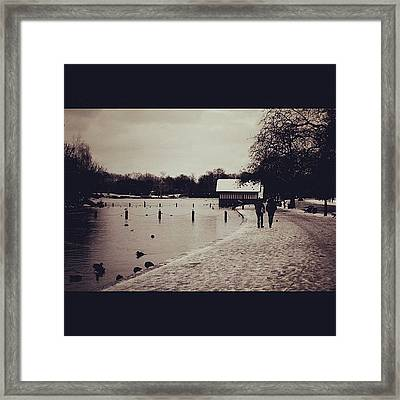 #london #hydepark Framed Print