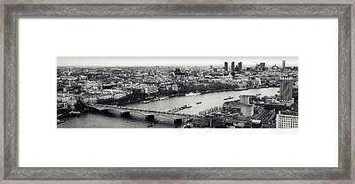 London In A Click Framed Print by Sharon Lisa Clarke