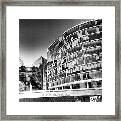 #london #instacanvas #uk #london2012 Framed Print