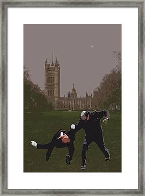 London Matrix Martial Arts Smith Framed Print