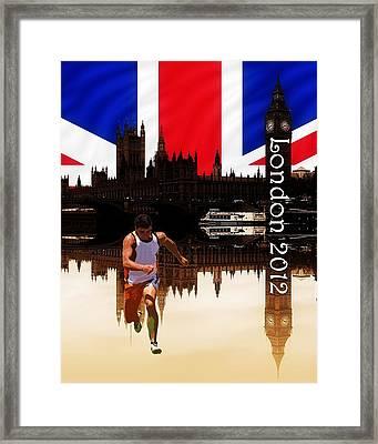 London Olympics Framed Print by Sharon Lisa Clarke