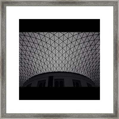 #london Framed Print