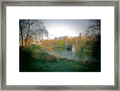 London Park Framed Print