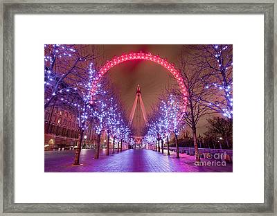 London Framed Print by Damien Keating