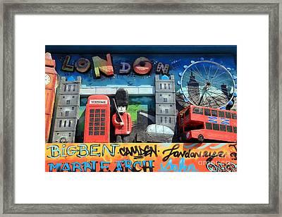 London Symbols Framed Print by Sophie Vigneault
