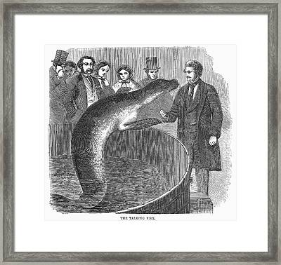 London: Talking Fish Framed Print by Granger