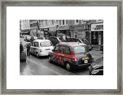 London Taxi  Framed Print