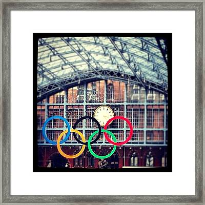 London. The Olympic City Framed Print