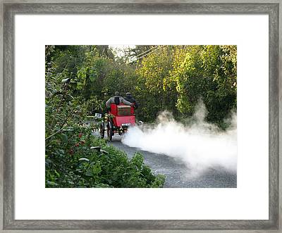 London To Brighton Framed Print by Maria Joy