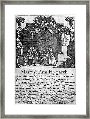 London: Trade Card Framed Print by Granger