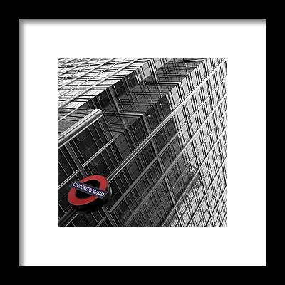 London Tube Framed Prints