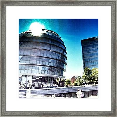 #london2012 #london #uk #england Framed Print