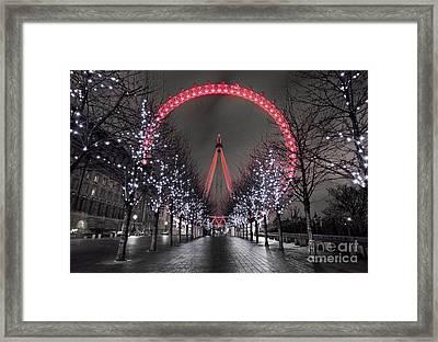 Londoneye Framed Print by Damien Keating