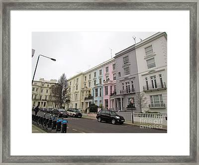 Londontown Framed Print by Beth Saffer