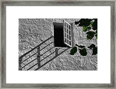 Lone Window Framed Print