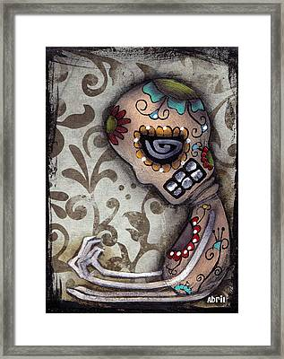Loneliness Framed Print by  Abril Andrade Griffith
