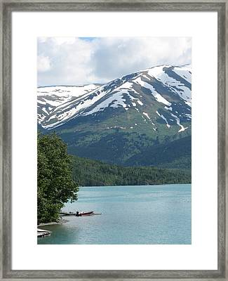 Lonely Boat 2 Framed Print