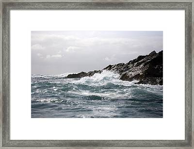 Lonely Cape St. James At Southern Point Framed Print by Pete Ryan