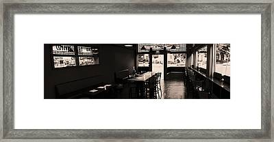Lonely Lounge  Framed Print by Joshua Volff