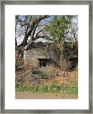 Lonely Since A Long Time Framed Print by ilendra Vyas