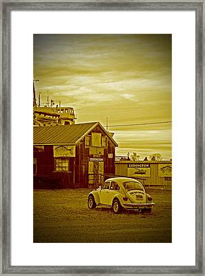 Framed Print featuring the photograph Lonely Vw by Randall  Cogle