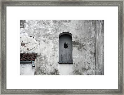 Lonely Window Framed Print