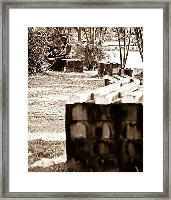 Lonesome Framed Print