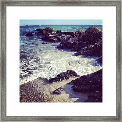 Long Beach Framed Print