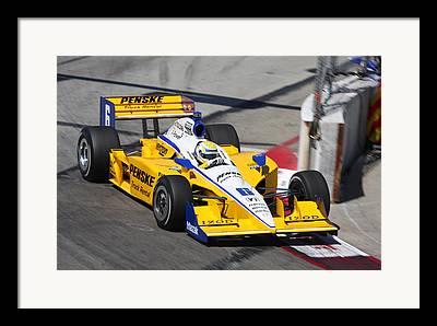 Izod Indy Car Framed Prints