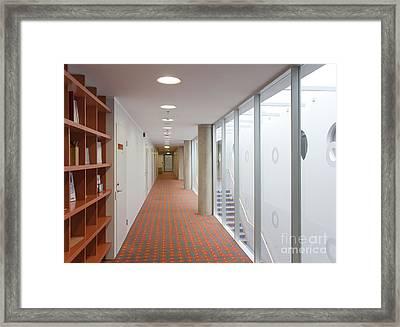 Long Carpeted Hallway Framed Print