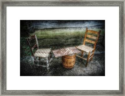 Long Gone Framed Print by Christine Annas
