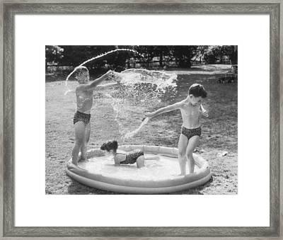 Long Hot Summer Framed Print