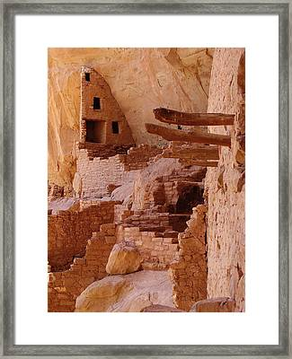 Long House Framed Print by FeVa  Fotos