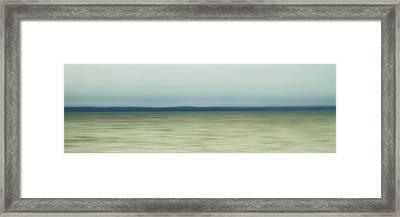 Long Island Sound Framed Print by Bob Retnauer