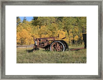 Long Retired Framed Print by Mark Sacco