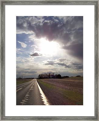 Long Ride Home Framed Print