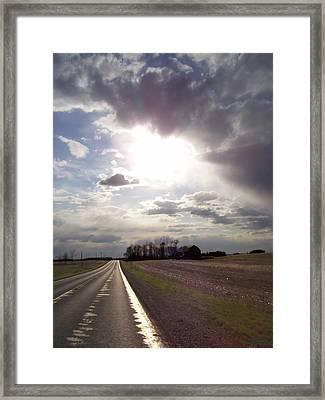 Long Ride Home Framed Print