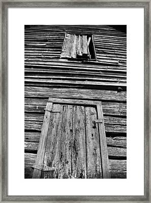 Long Tall Barn Framed Print by Greg Sharpe