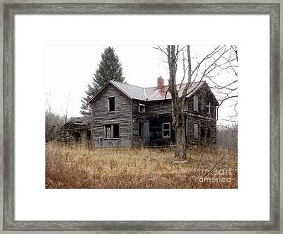 Long Time Gone Framed Print