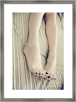 Long Toes Framed Print by Tos Photos