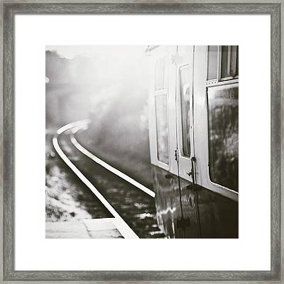 Long Train Running Framed Print by James Homer