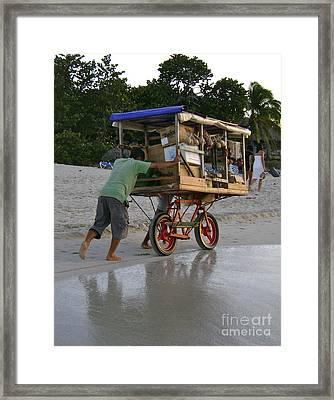 Long Walk Home Framed Print by Laurel Fredericks