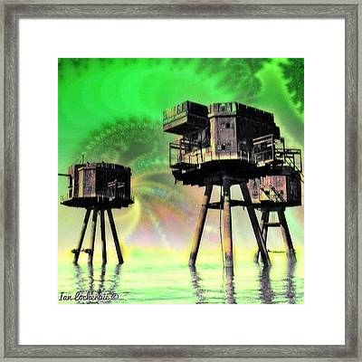 Long Way From Home - Design - Framed Print
