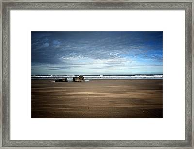 Long Way To The Sea Framed Print by Svetlana Sewell